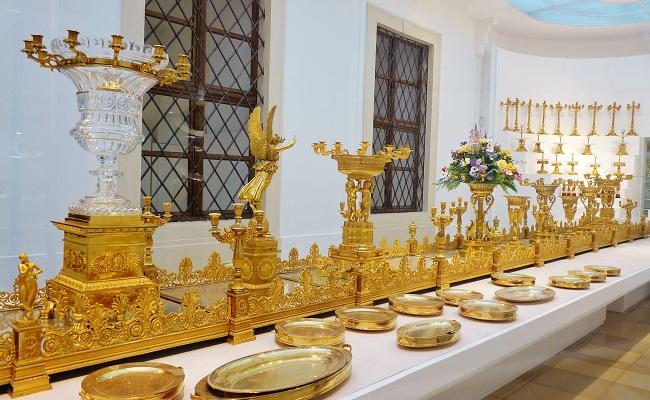 cung điện hofburg - bộ sưu tập bạc