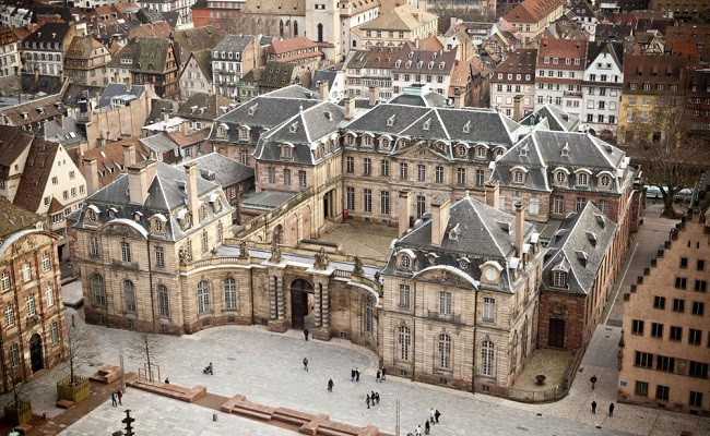 cung điện palais rohan - kiến trúc