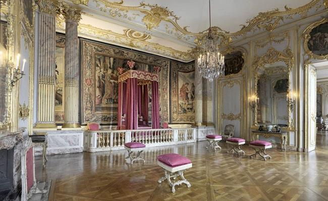 cung điện palais rohan - nội thất