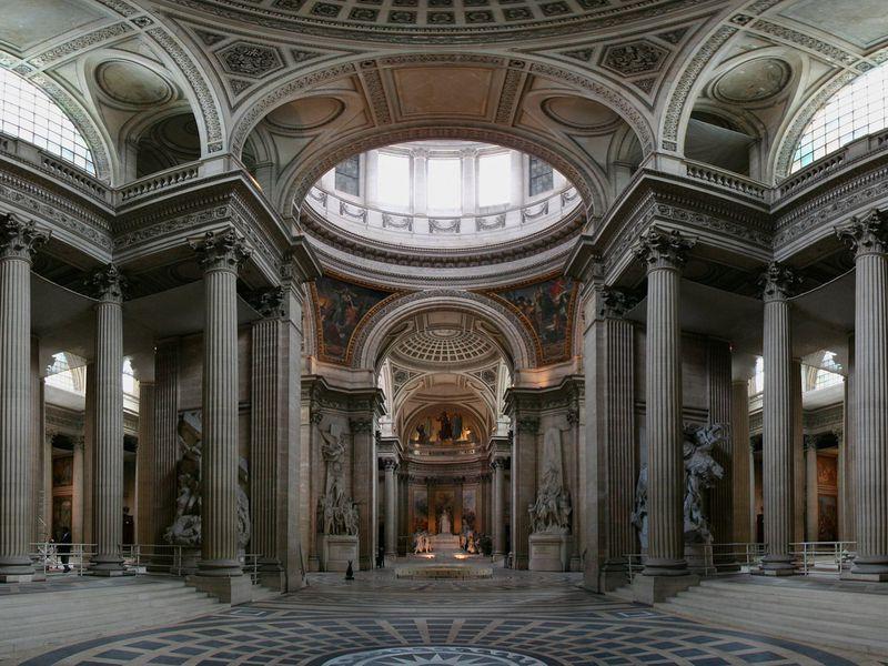 kiến trúc điện pantheon