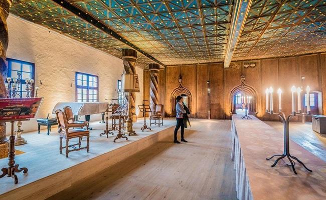 pháo đài hohensalzburg - nội thất