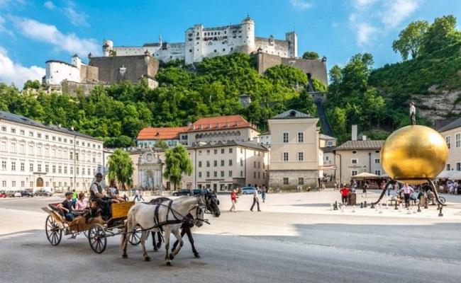 pháo đài hohensalzburg - giá vé tham quan