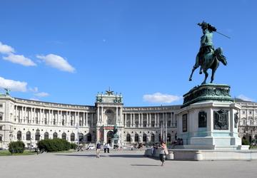 quảng trường heldenplatz