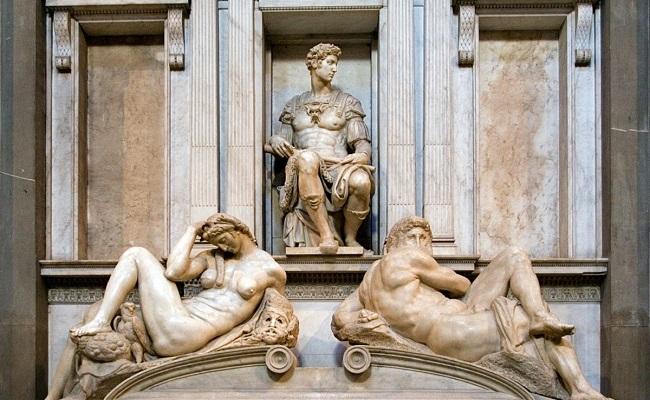 quảng trường piazzale michelangelo - bức điêu khắc ngày và đêm