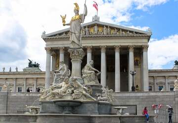 Tòa nhà Quốc hội Austrian Parliament Building