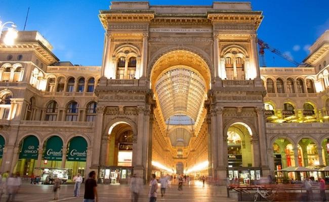 trung tâm mua sắm vittorio emanuele - kiến trúc