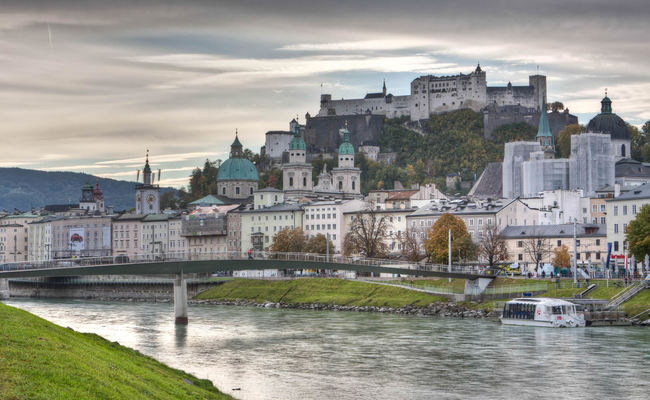 Salzburg lịch sử - nơi khai sinh của thiên tài âm nhạc Mozart.