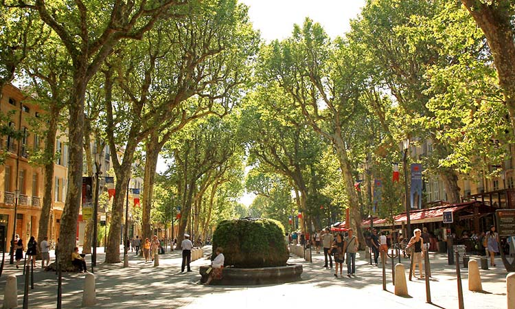Phố Cours Mirabeau