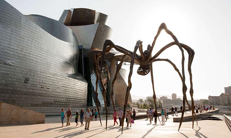 Kiến trúc độc đáo tại bảo tàng Guggenheim