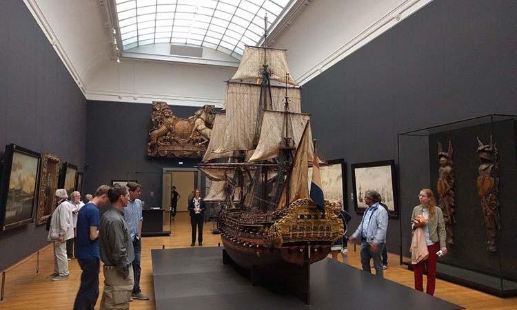Các cổ vật trưng bày trong Rijksmuseum