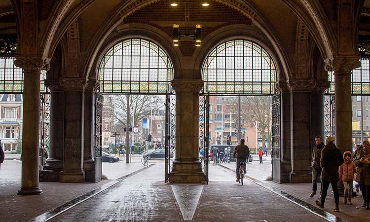 Đường xe đạp ngay trong Rijksmuseum