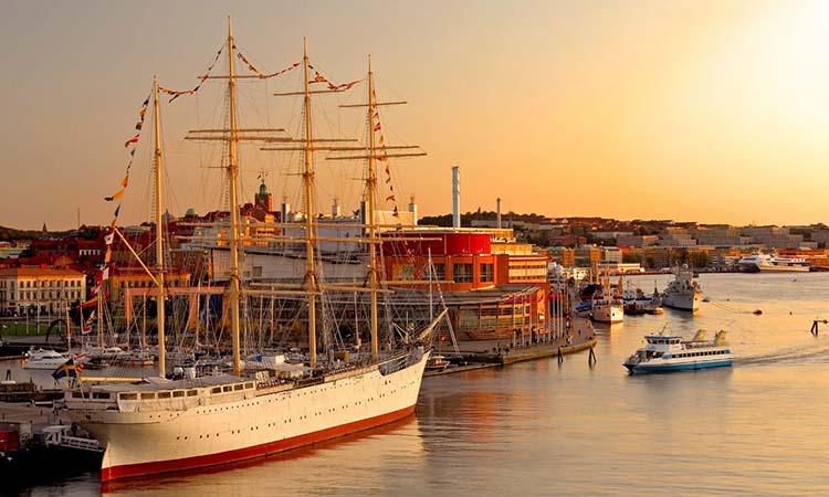 Cảng Gothenburg, Thụy Điển
