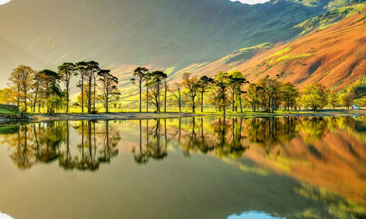 Công viên Lake District không thiếu những cảnh đẹp mê hồn