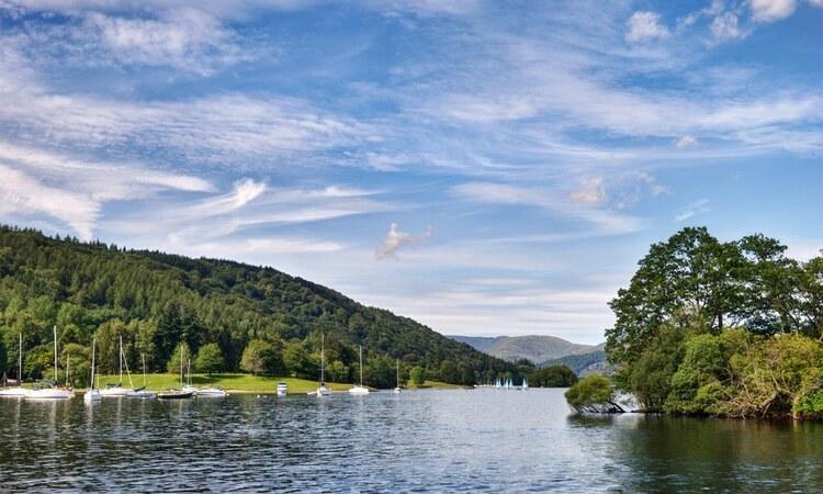 Hồ Windermere tại công viên quốc gia Lake District