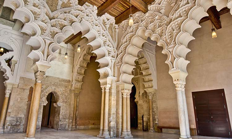 Nội thất cung điện Aljaferia