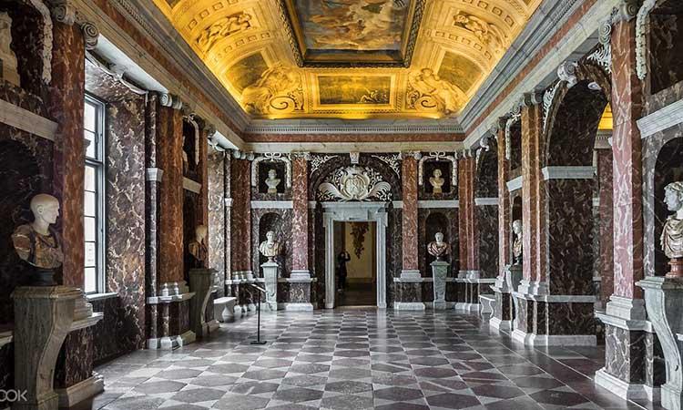Nội thất cung điện Drottningholm