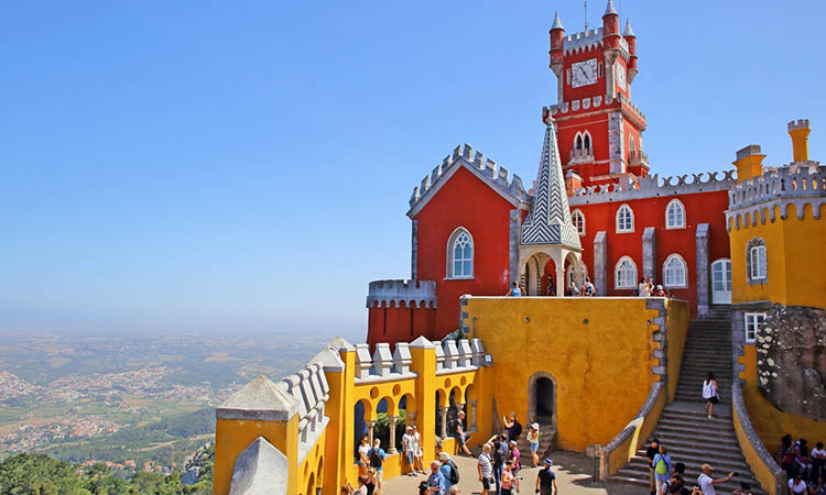 Palacio da Pena - kiệt tác kiến trúc
