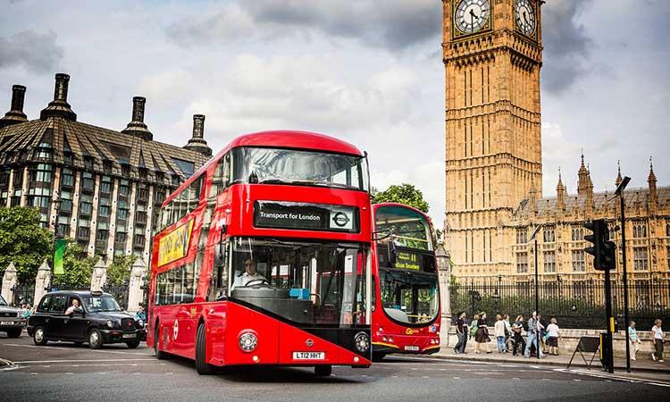 Xe buýt 2 tầng tại London