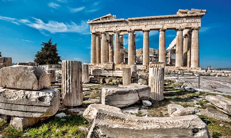 Đền Parthenon có lịch sử lâu đời