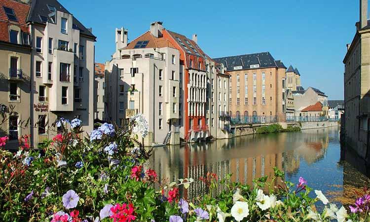 mùa hè ở Metz