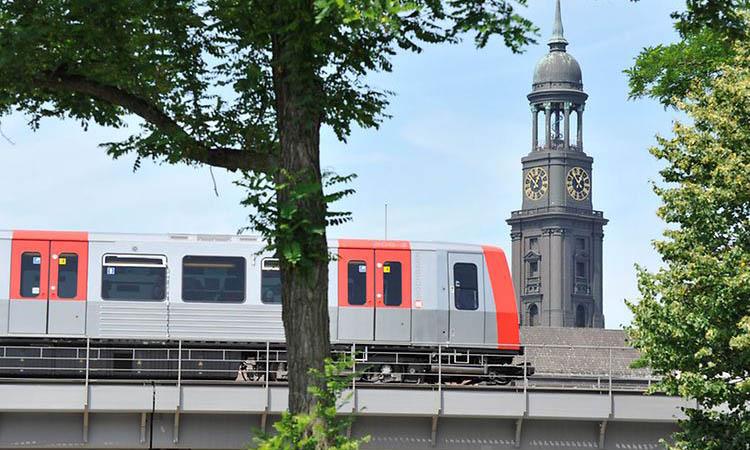 Di chuyển bằng tàu tại Hamburg là một lựa chọn tiện lợi