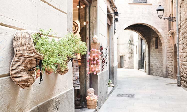 Khu phố Quartier Gothic