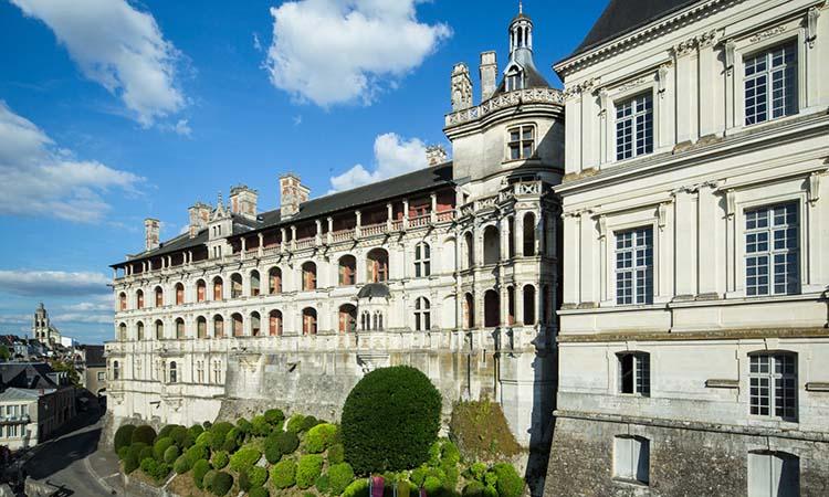 Vẻ đẹp của lâu đài Blois