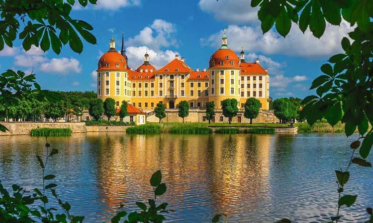 Kiến trúc nổi bật của lâu đài Moritzburg
