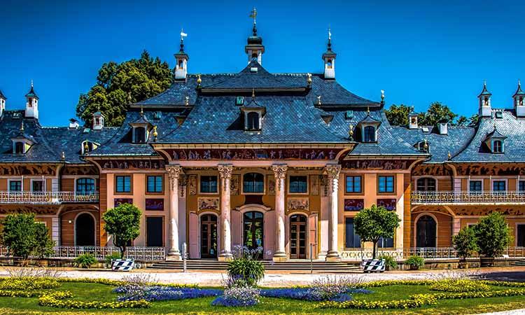 Kiến trúc độc đáo của lâu đài Pillnitz