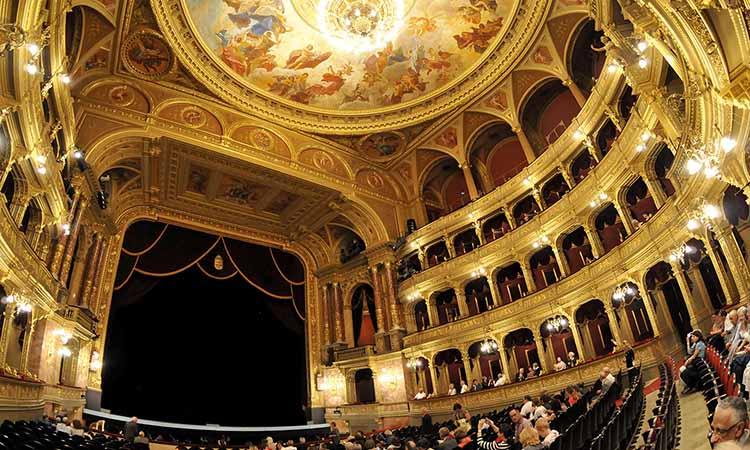 Nội thất Vienna Opera House