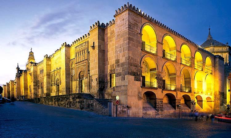 Ngoại thất nhà nguyện Mezquita