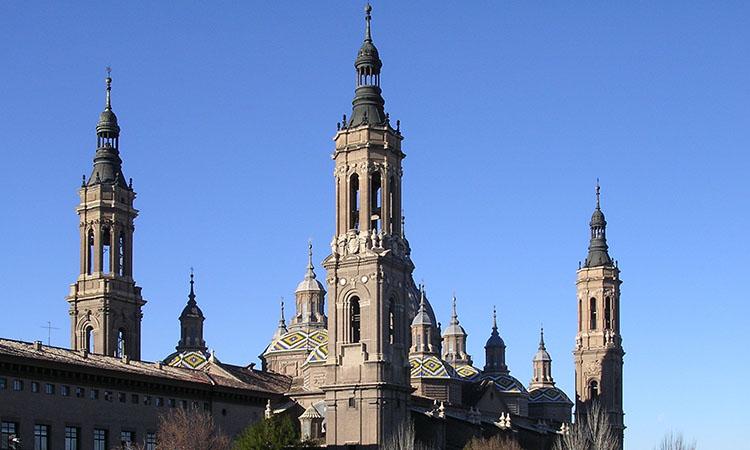 Basilica Del Pilar. Zaragoza