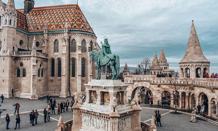 Pháo đài Fisherman tại Budapest