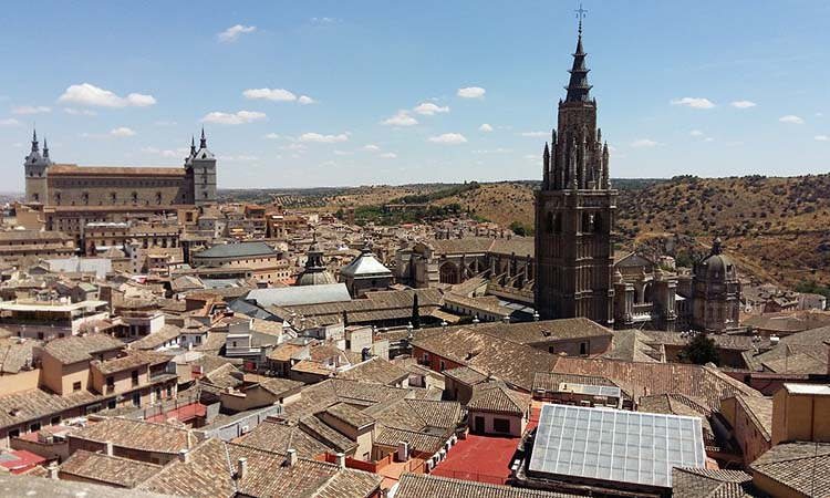 Phố cổ Toledo