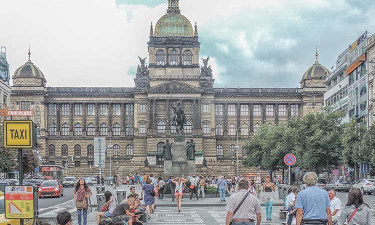 Vẻ đẹp của quảng trường Wenceslas