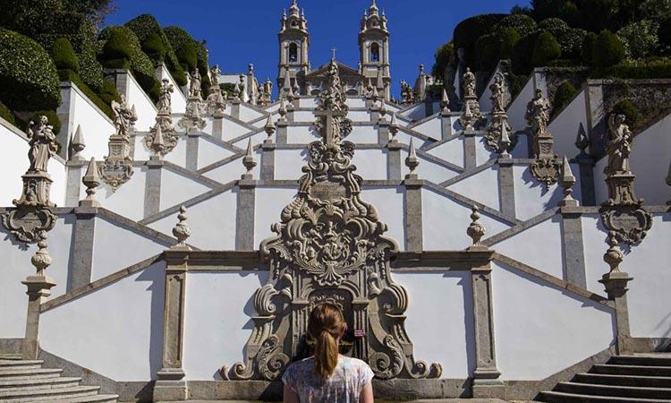Cầu thang nổi tiếng tại thánh địa