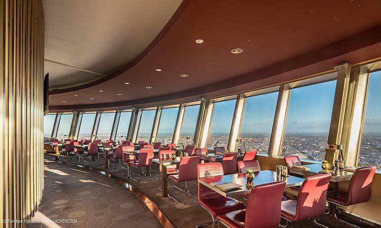 Nhà hàng trên tháp truyền hình Berlin