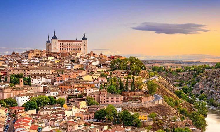 Vẻ đẹp của phố cổ Toledo