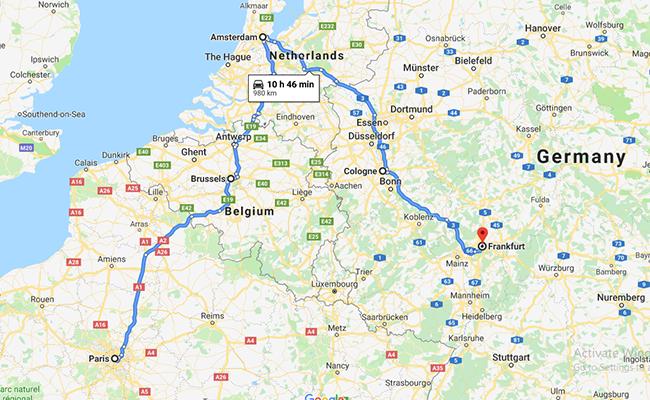 Thu Châu Âu vàng quyến rũ Pháp – Bỉ – Hà Lan – Đức (10N- 9Đ)