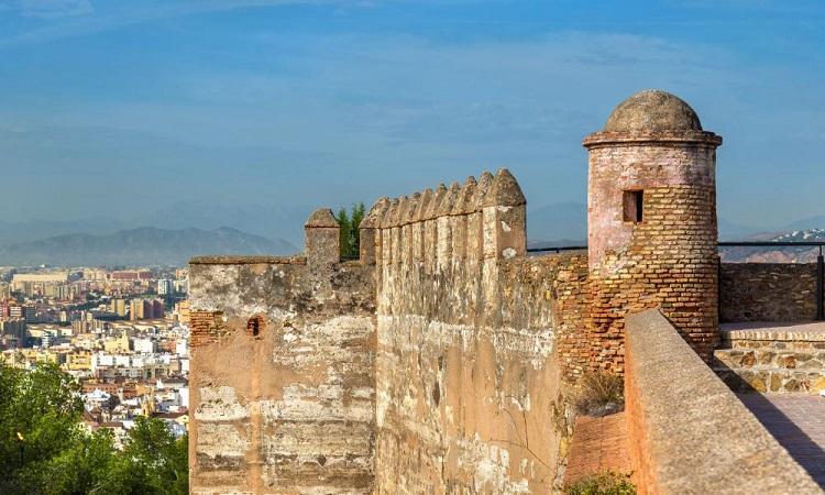 View từ Lâu đài Gibralfaro