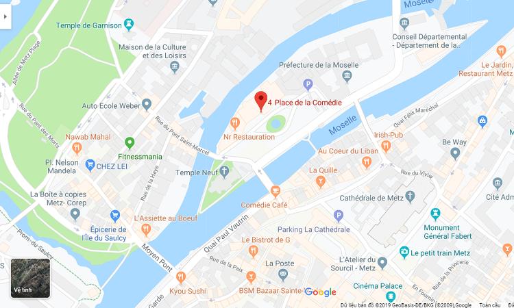 Bản đồ vị trí nhà hát kịch
