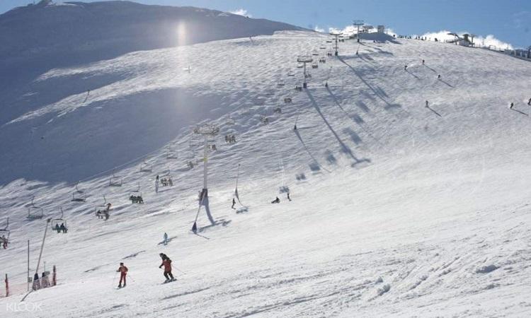Trượt tuyết tại Titlis