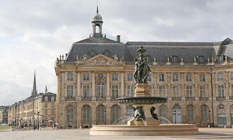 Kiến trúc tại Place de Bourse