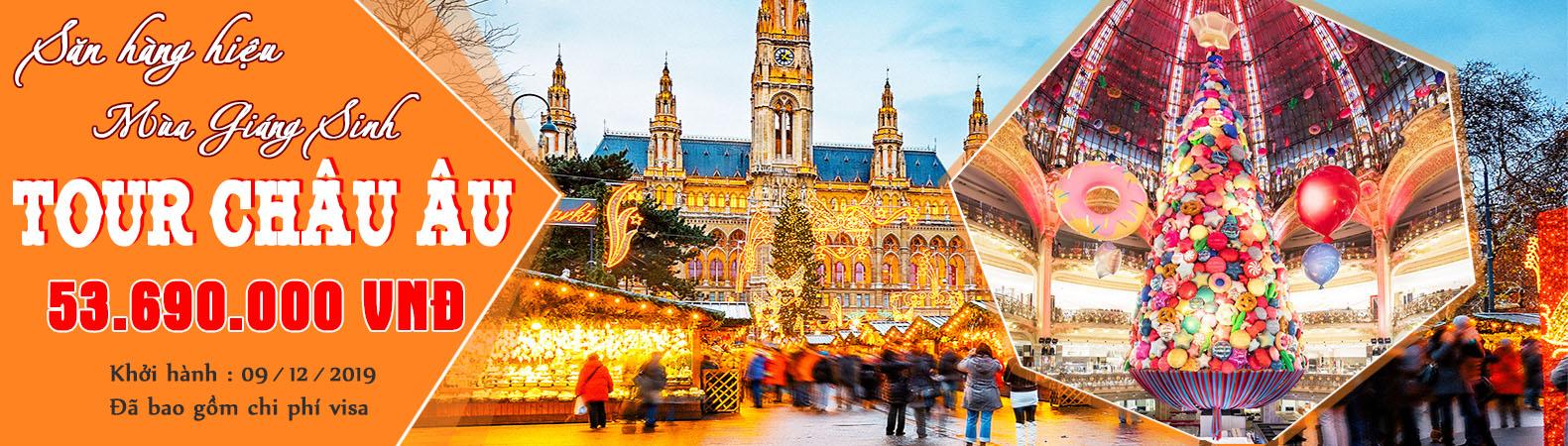 Tour du lịch châu Âu trọn gói