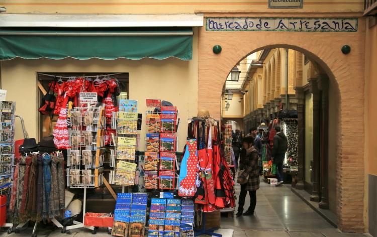 Chợ gia vị A rập La Alcaicería
