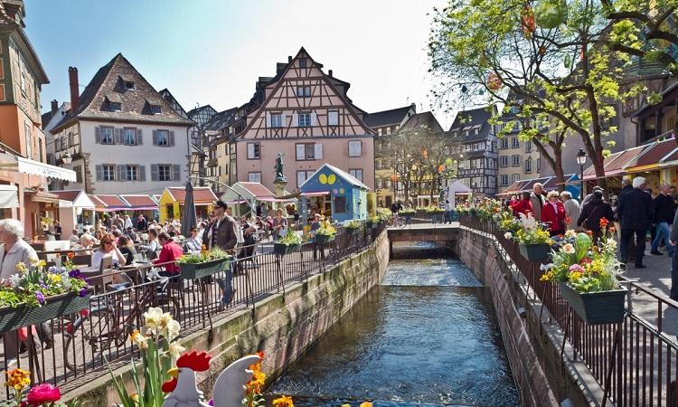 """Colmar, thị trấn được coi là một """"tiểu Venice"""""""