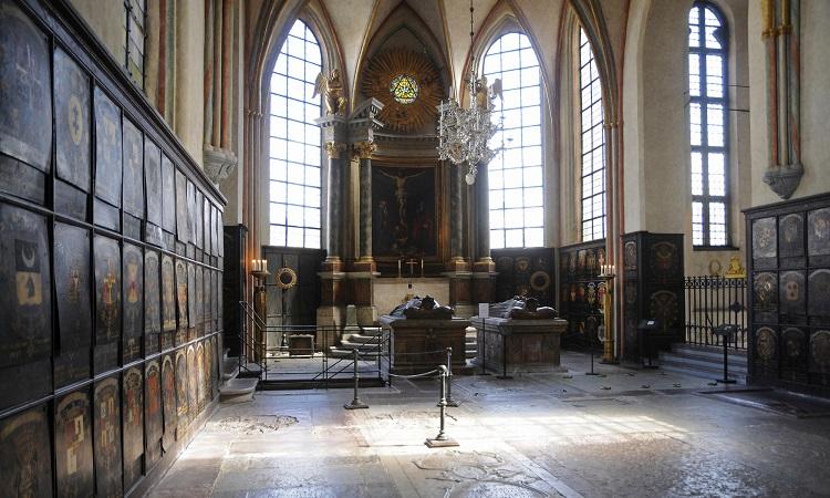 Bên trong nhà thờ Nhà thờ Riddarholmen
