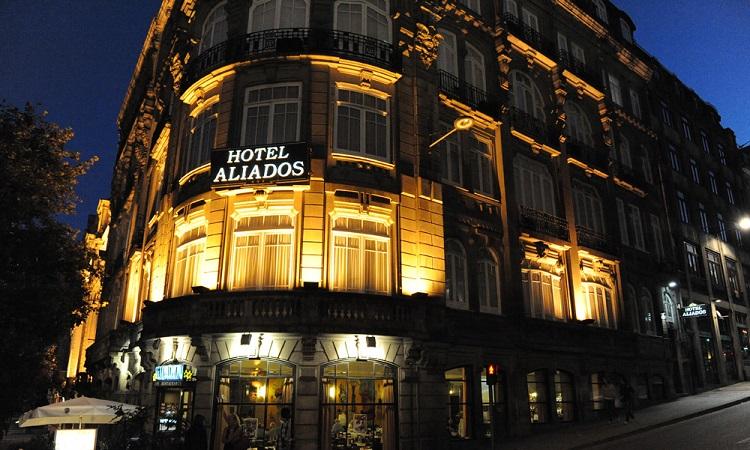 Khách sạn Aliados nổi tiếng