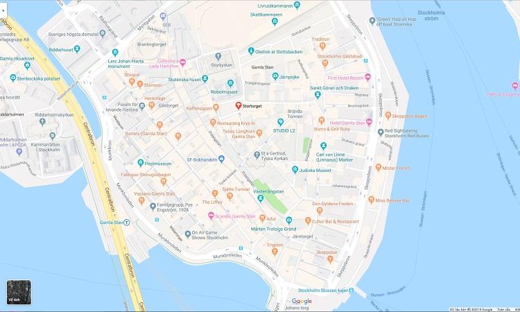 Vị trí trên google maps