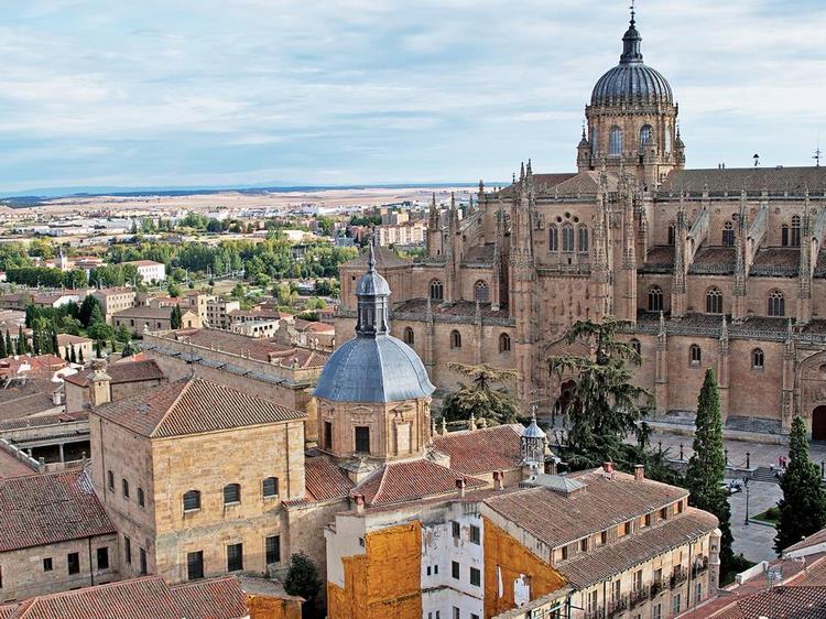 Những công trình kiến trúc cổ ở Salamanca